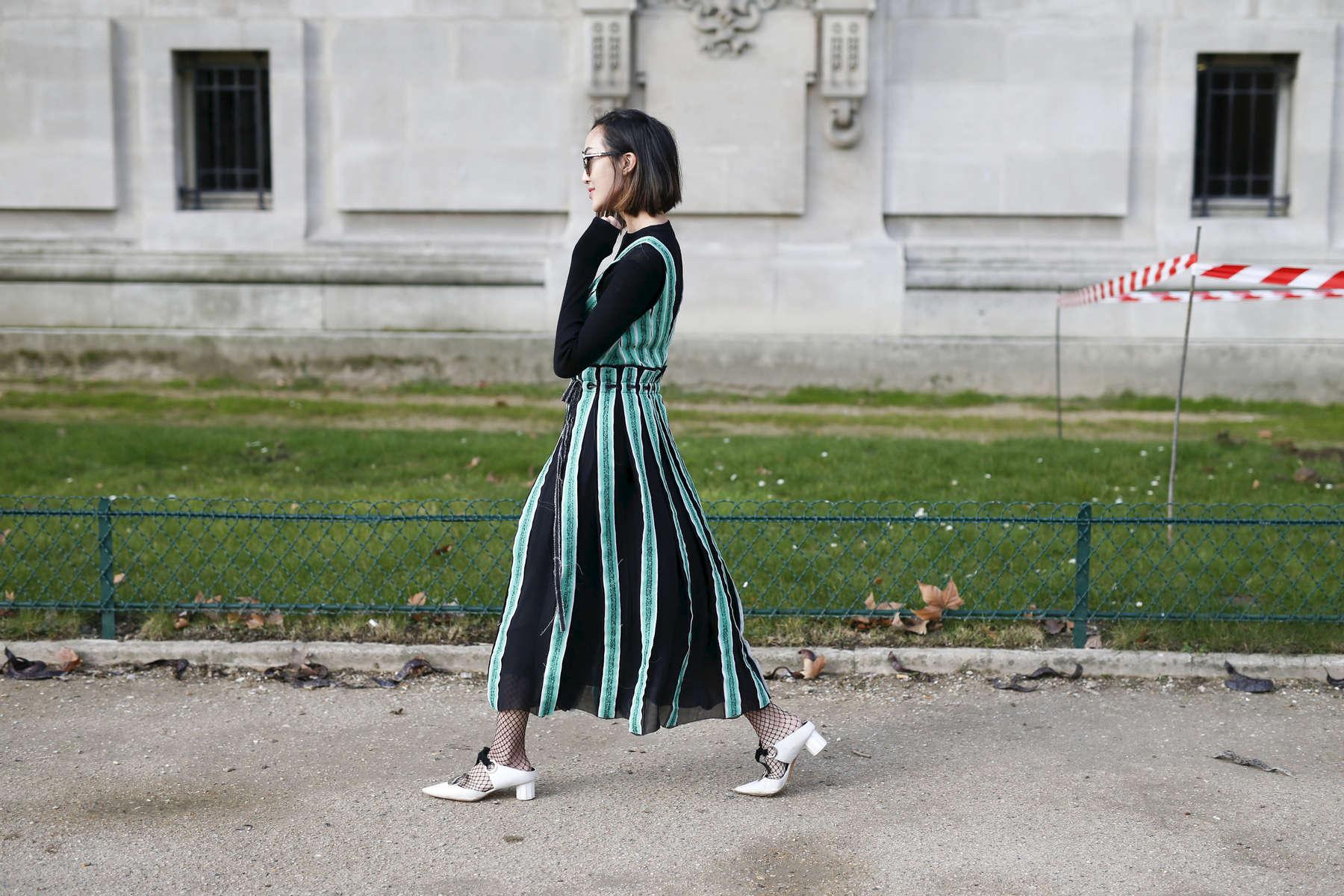 Chriselle Lim - Paris Fashion Week, March 2016