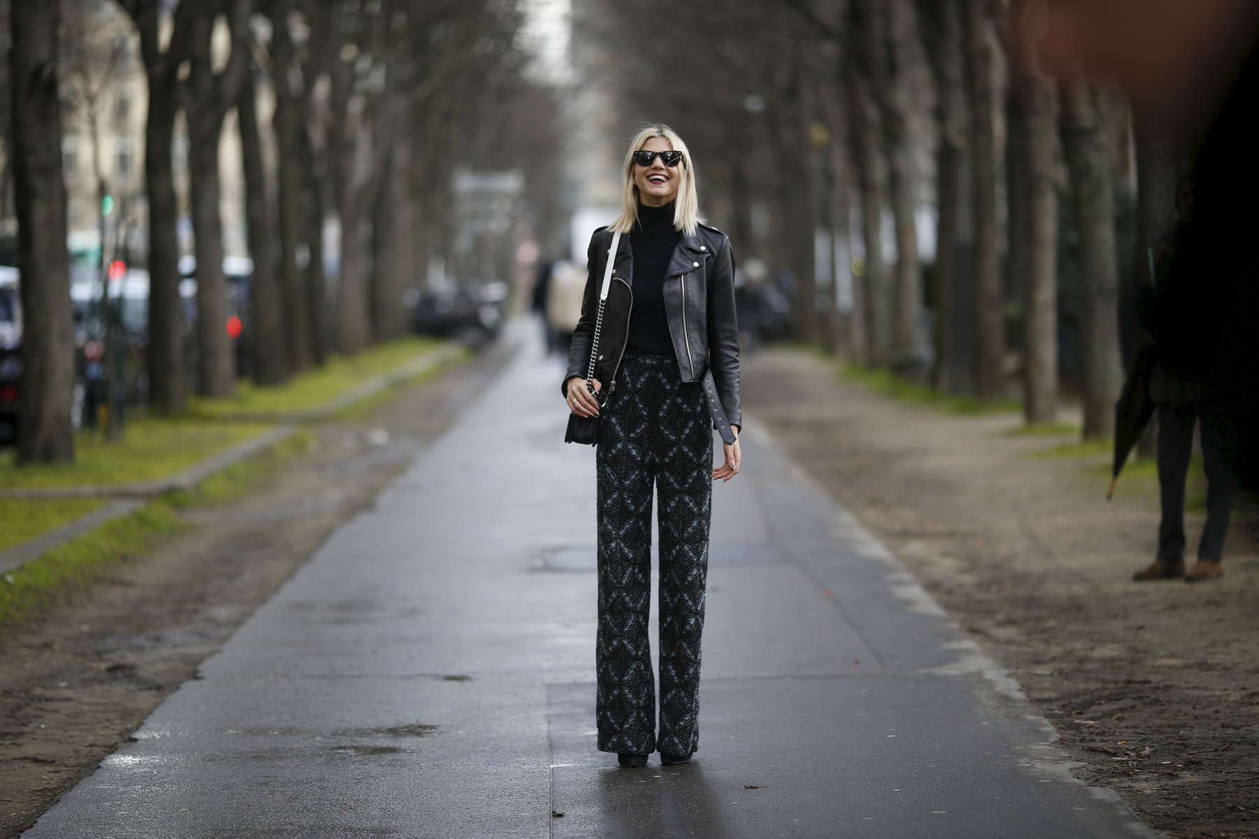 Samantha Angelo - Paris Fashion Week, March 2016