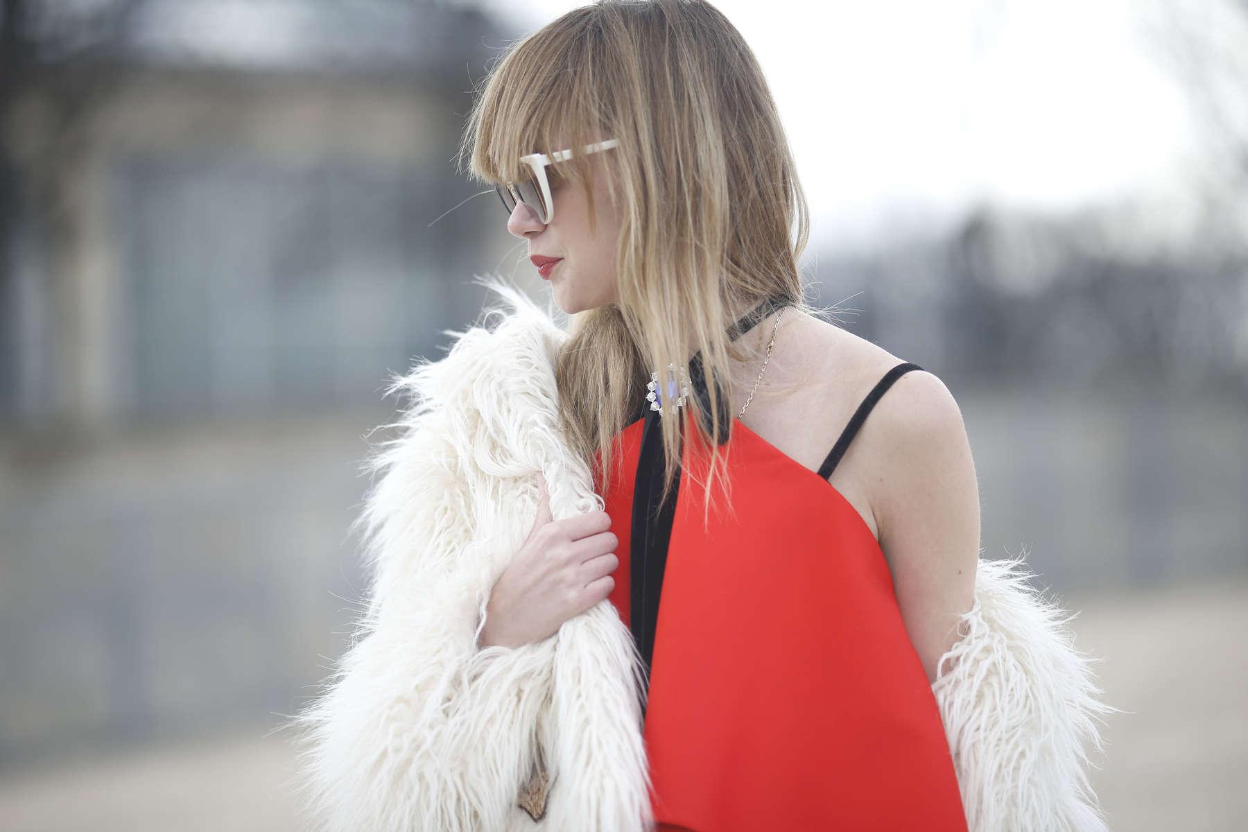 Anastasiia Masiutkina - Paris Fashion Week, March 2016
