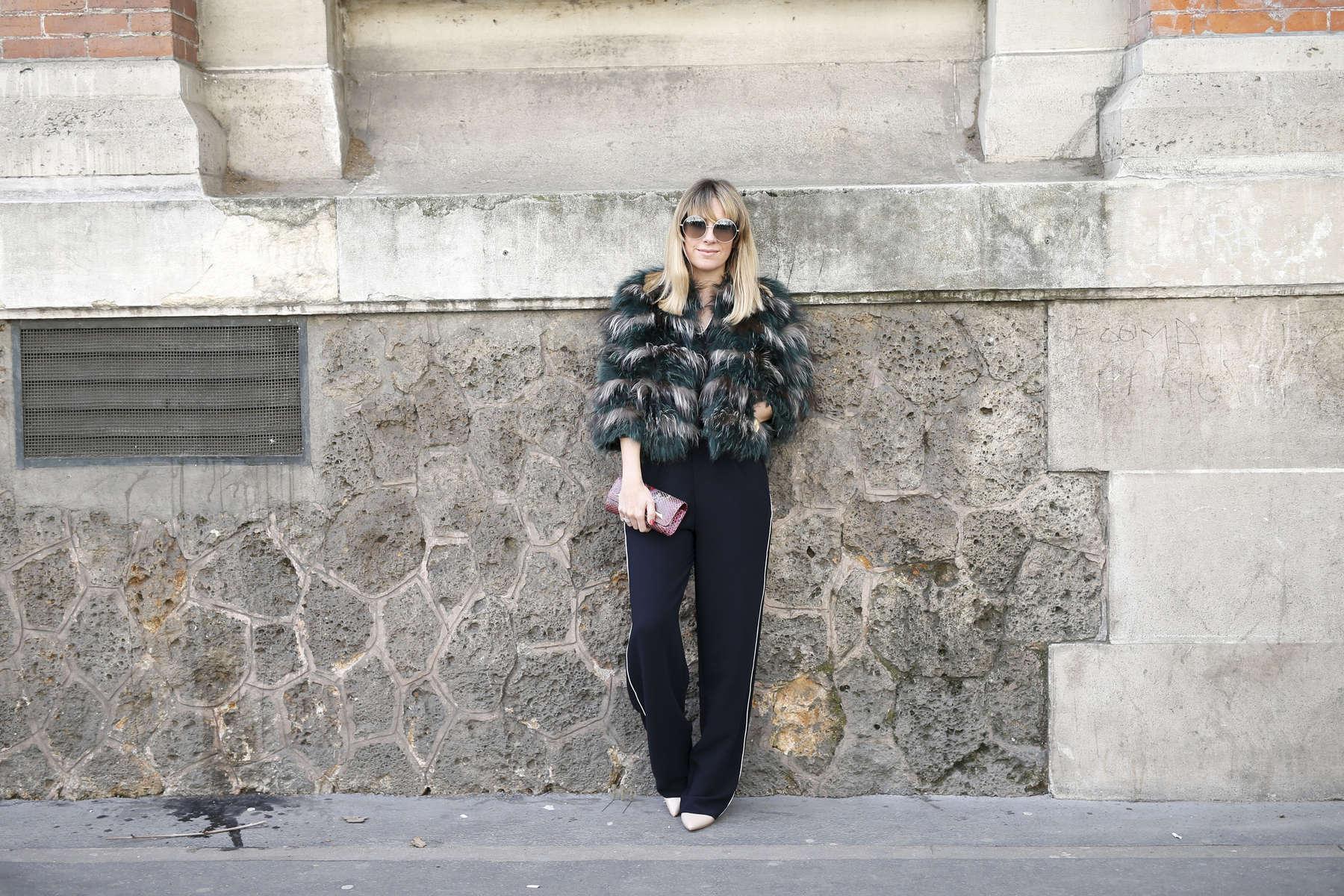 Monica Soares - Paris Fashion Week, March 2016