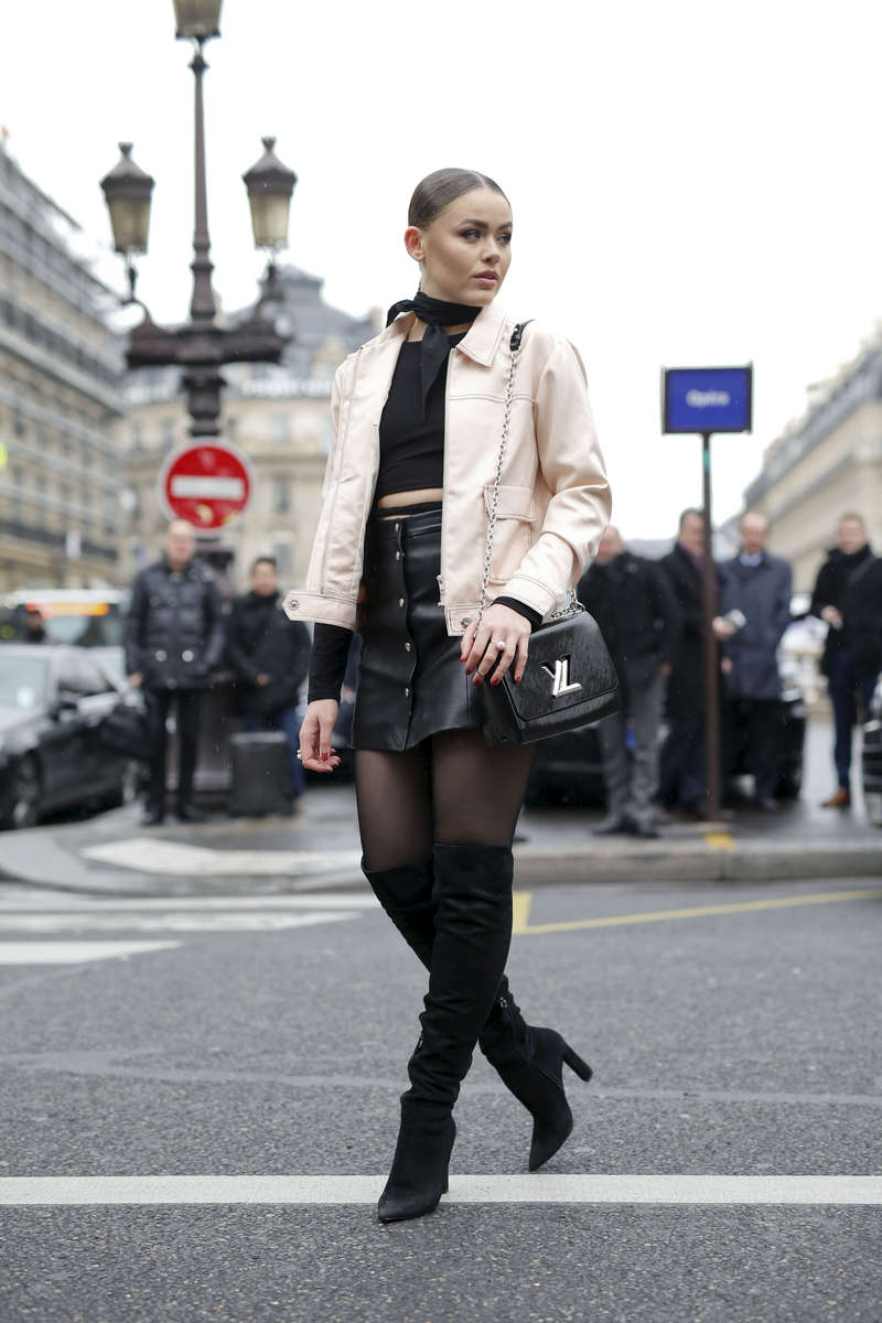 Kristina Bazan - Paris Fashion Week, March 2016