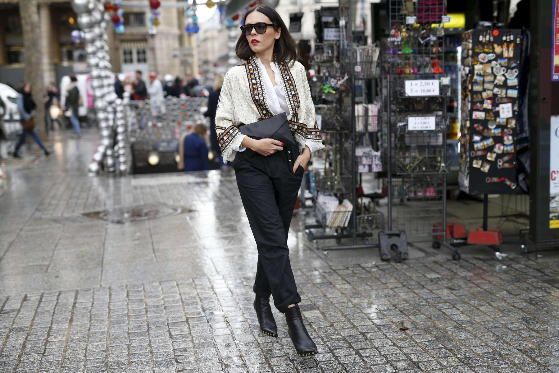 Evangelie Smyrniotaki - Paris Fashion Week, March 2016