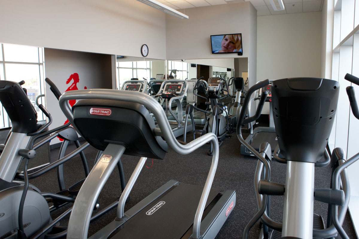 EPCOR Tower fitness centre