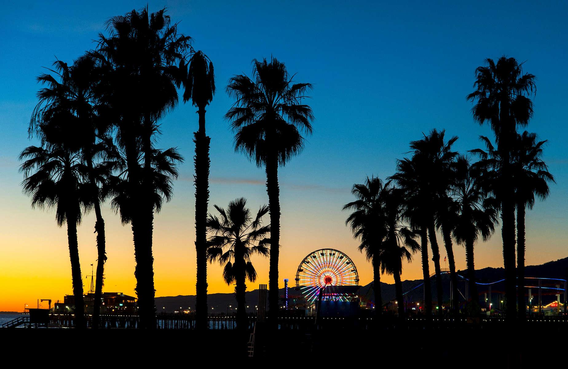 Santa Monica Dusk