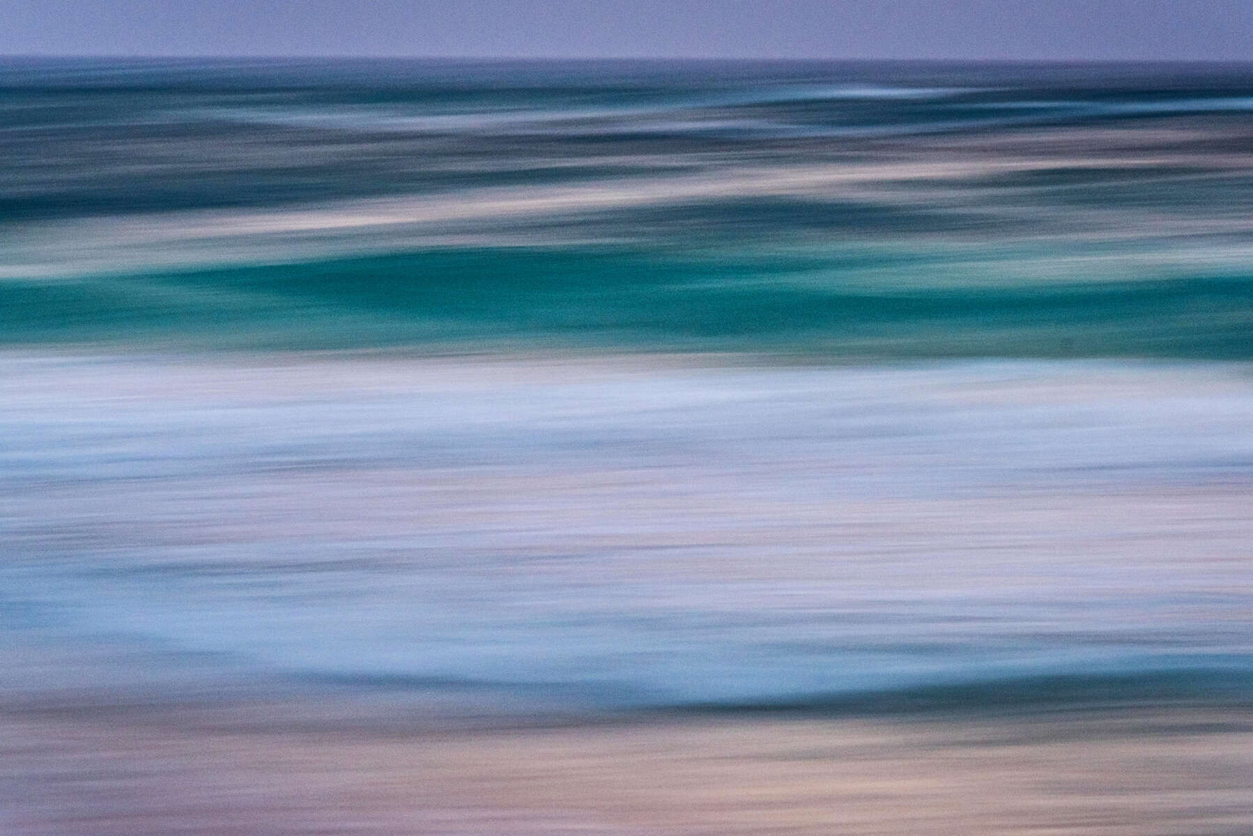 Sea Dusk Abstract