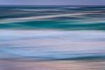 Sea Dusk Abstract