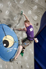 Jakob Schubert of Austria competes during the IFSC climbing world cup finals in Kranj, Slovenia, on Nov 18, 2012.
