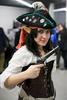 A cosplayer participates in the 4th Makkon, the largest Slovenian anime event, in Ljubljana, Slovenia, Dec. 12, 2015.