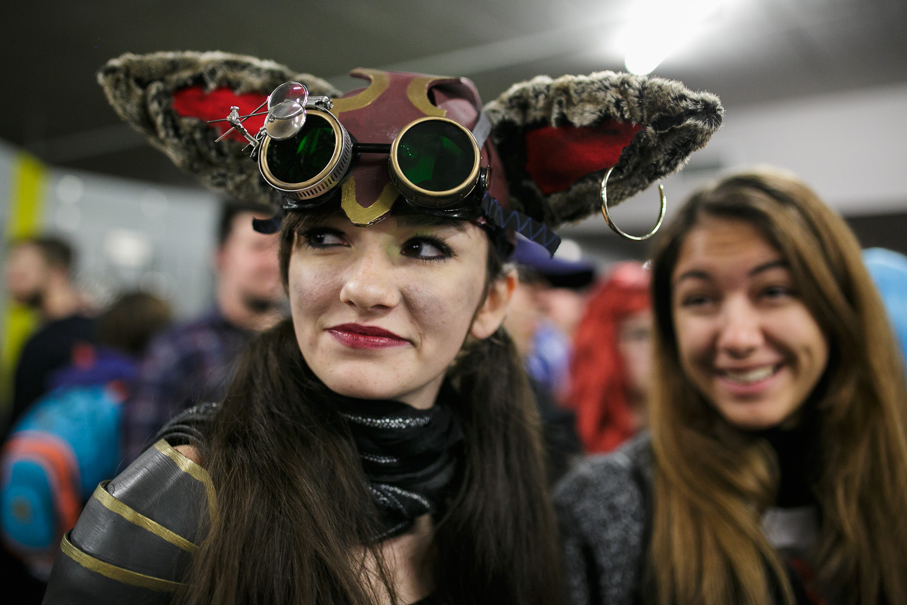 A cosplayer participates in the 4th Makkon, the largest Slovenian anime event, in Ljubljana, Slovenia, Dec. 12, 2015.
