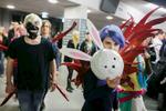 Cosplayers participate in the 4th Makkon, the largest Slovenian anime event, in Ljubljana, Slovenia, Dec. 12, 2015.