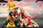 China National Peking Opera Company performs the Monkey King in Cankarjev dom Culture and Congress Center in Ljubljana, Slovenia, Dec. 31, 2015.