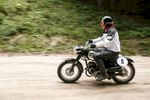 Helmut Karnitschnig (AUT) on a 1955 Puch motorcycle competes in the 19th Hrast Memorial, the international oldtimers\' mountain race in Ljubelj, Slovenia, Sep. 13, 2015.