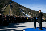 Ski jumps, a part of a new modern Nordic center in Planica, Slovenia, Dec. 11. 2015. The popular ski jumping venue with the flying hill that saw 42 world records is one of the most modern Nordic centers in the world.
