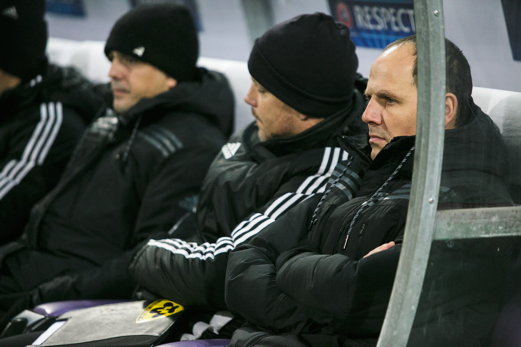 NK Maribor coach Ante Simundza before the UEFA Champions League Group G match against FC Schalke 04 on December 10 in Maribor, Slovenia.