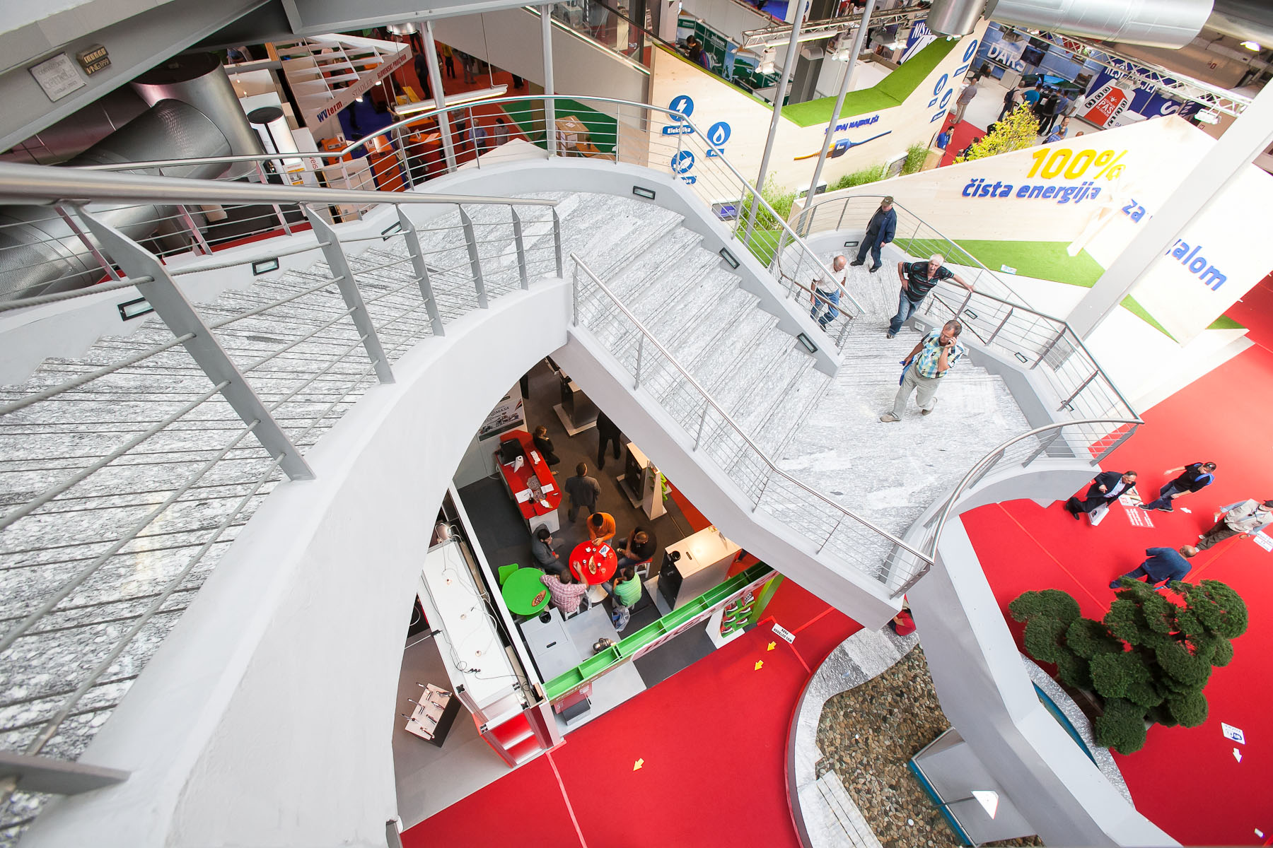 The fairground at the 48th International Trade Fair in Celje, Slovenia, Sep. 8, 2015.