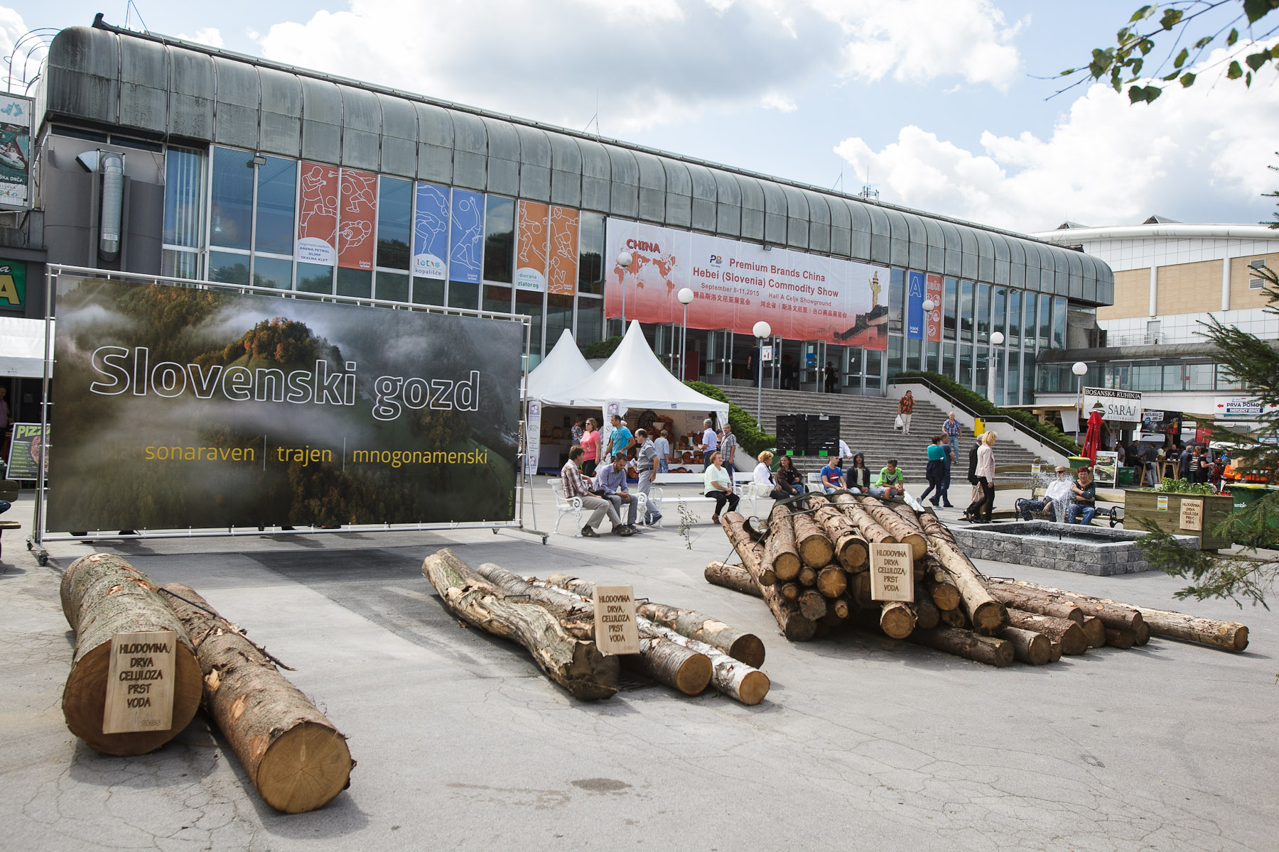Slovenian wood industry presents itself at the 48th International Trade Fair in Celje, Slovenia, Sep. 8, 2015.