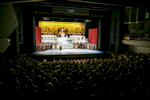 China National Opera House performs Giacomo Puccini\'s opera Turandot in Cankarjev dom Cultural & Congress center in Ljubljana, Slovenia, Sep. 1, 2015.