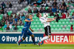 Marc Stendera of Germany catches the ball during the UEFA U-17 European Championship final tournament group match between Germany and Iceland at the SRC Stozice Stadium in Ljubljana, Slovenia, May 7, 2012.