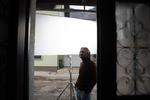 Blaž Setnikar na snemanju filma Zbudi me.------------------------------------Actor Blaž Setnikar on the set of Wake Me.