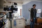 Jure Henigman na snemanju filma Zbudi me.--------------------------------------Actor Jure Henigman on the set of Wake Me.