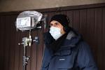 Režiser Marko Šantić na snemanju filma Zbudi me.-----------------------------------------------Director Marko Šantić on the set of Wake Me.
