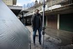 Benjamin Krnetić na snemanju filma Zbudi me.-----------------------------------------Actor Benjamin Krnetić on the set of Wake Me.