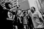 Confrontation entre pro et anti démocratie à kowloon