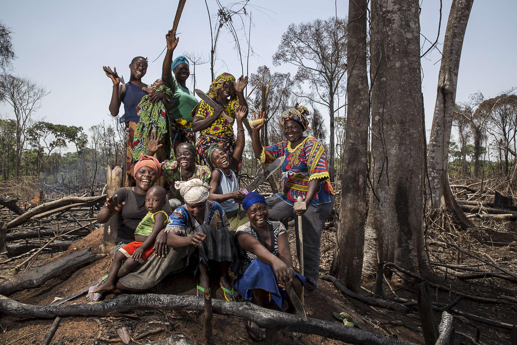 RDC, mai 2015. Soeur Angélique Namaika lauréate du Prix Nansel du Haut Commissariat de L' ONU pour les réfugiés (lUNHCR) pour son action auprès des femmes du nord de la RDC et plus particulièrement les femmes et les enfants victimes des exactions de la LRA du tristement célèbre Joseph Kony.