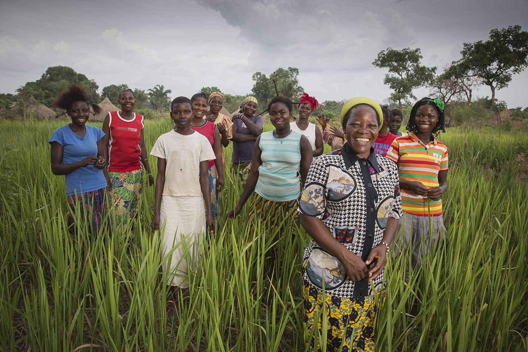 RDC, mai 2014. Soeur Angélique Namaika lauréate du Prix Hansel de l'UNHCR pour son action auprès des femmes du nord de la RDC à Dungu.CRD,May 2014. Sister Angélique Namaika winner of the Hansel price of the UNHCR for her dedication to help women victim of war in the north of the DRC, in Dungu.