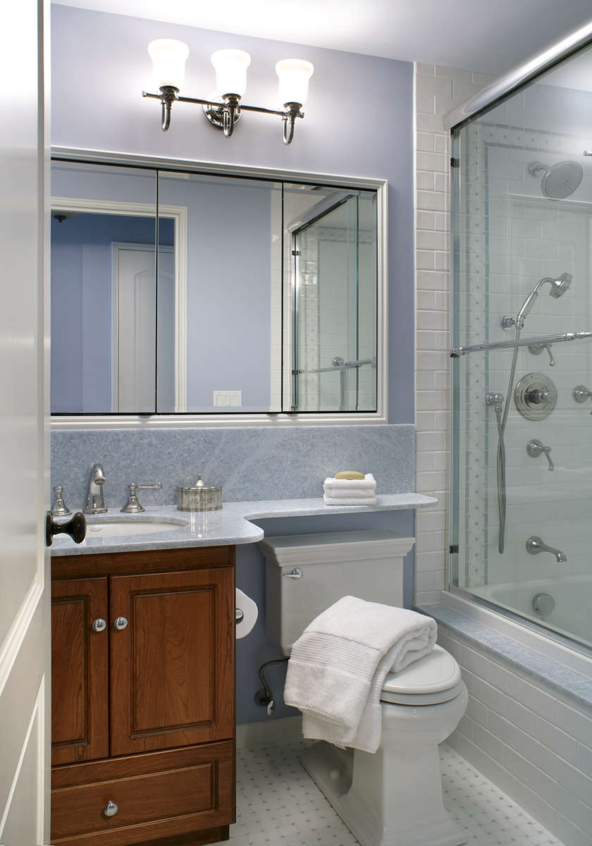 New York City Transitional Bathroom
