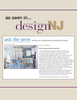 Ask the Pros shares advice on designing the perfect home straight from the source–New Jersey's design experts. The easy to read question & answer format is a great place for advice & inspiration.What is trending in kitchen design today?