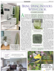 {quote}Bring Spring Indoors With Color{quote}Virginia shares design ideas on how to incorporate the hot new color, green, into a space to inspire the concept of spring. Two River Times - Home & Garden Edition 2017