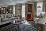 Formal living room in rumson new jersey