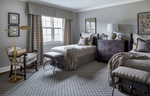 boys bedroom with twin beds and stanton degraw java area rug