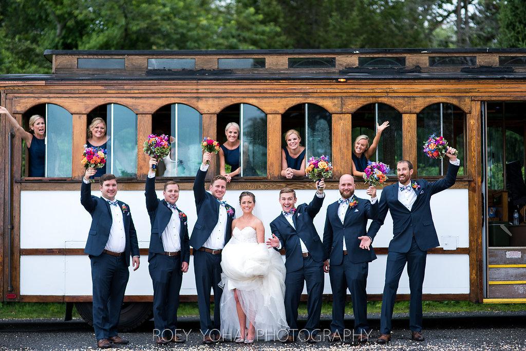 nj wedding trolley