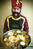 Doorman-with-trditonal-India-food4072