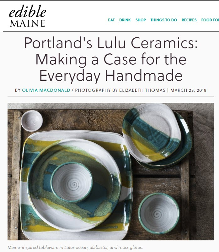 Making a Case for the Everyday HandmadeArticle by Olivia McDonald / Photography by Elizabeth Thomas Click to see the entire article.