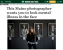 Bangor Daily News feature on my show {quote}I Am More: Facing Stigma.{quote}Read the entire article here.