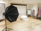 A video of an inside of a professional photography studio in Richmond, West London.