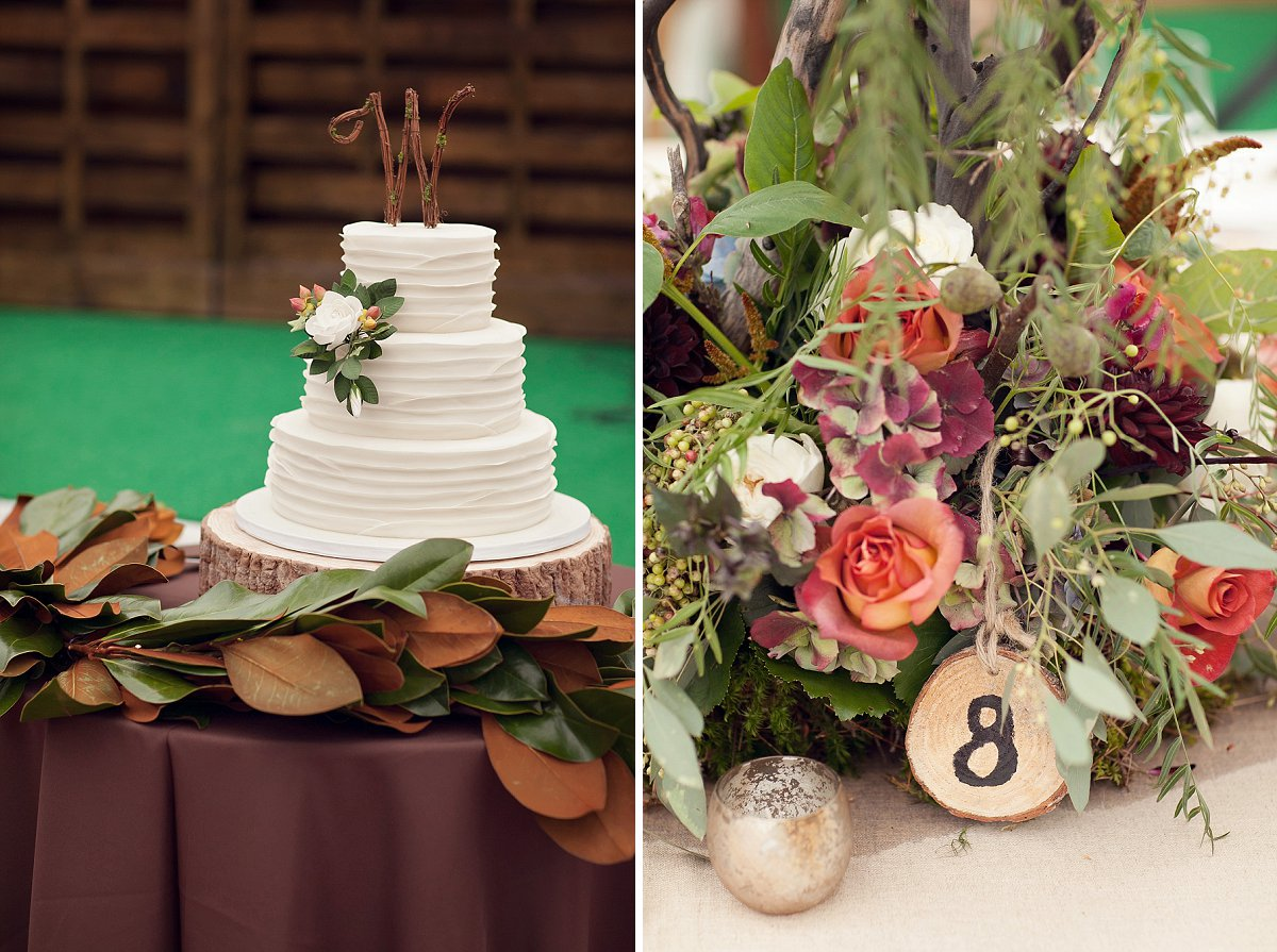 Rustic elegance for a Sleeping Bear National Lakeshore, Northern Michigan wedding.