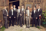 Comical groomsmen at a Misty Farms, Ann Arbor Michigan wedding.