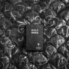 American artifact. A Bible on a motel bedspread.(David Guttenfelder)