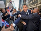 New York Yankees player Alex {quote}A-Rod{quote} Rodriguez greets his supporters as he arrives with his attorneys for his appeal against MLB at 245 Park Avenue in Manhattan on Monday, September 30, 2013.
