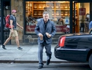 Actor Alec Baldwin stops by for ice coffee on his way to Manhattan Court located at 346 Broadway in Manhattan for his disorderly conduct summon on Thursday, July 24, 2014.