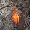 Firefighters battle a fatal 4-alarm fire that started on the 5th floor and quickly spread to the upper floors in the building located at 1 Hawley Terrace in Yonkers, New York on Wednesday, March 15, 2017.