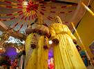 Hindu Wedding Seema Tiwari and Sunil Sobhan inside Shri Lakshmi Narayan Mandir located 128-04 Liberty Avenue in Richmond Hill, New York on Friday, October 23, 2010.
