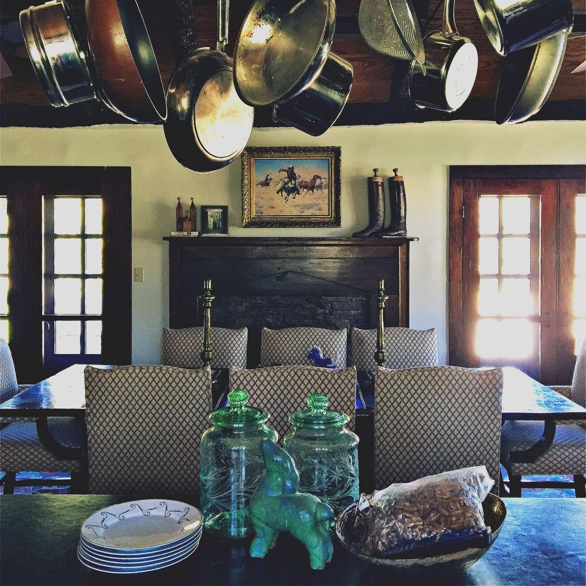 It was an incredible opportunity to re-organize a ranch home already filled with wonderful heritage.