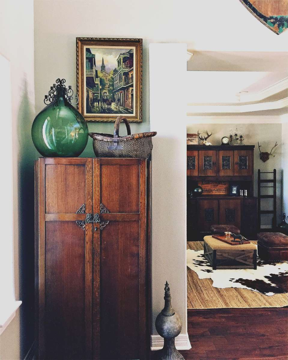 Sometimes it's just a matter of re-organizing a client's space to get beautiful results.