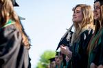 Vermont commencement college graduation ceremony in Burlington.