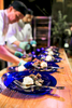 Chefs prepare food at the University of Vermont Foundation Campaign Gala.. Event design by Feats Inc.